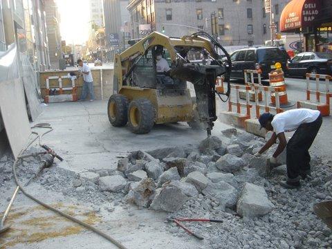 Concrete Demolition Contractor   Manhattan NYC   Paladino